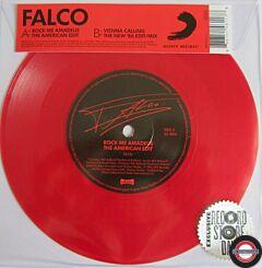 "Falco – Rock Me Amadeus (The American Edit) / Vienna Calling (The New '86 Edit / Mix) 7"" Single"