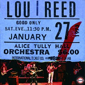 Lou Reed - Live At AliceTully Hall (2LP Burgundy Red) Bf RSD 2020