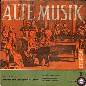 Antonio Vivaldi Trio-Sonate a-moll für Flöte, Gambe und Cembalo