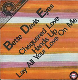 "Bette Davis Eyes (7"" Amiga-Quartett-Serie)"
