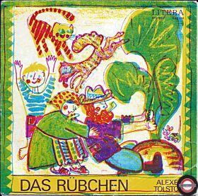 """Das Rübchen $ Der Fuchs und der Kranich & Die Geschichte vom kleinen Spatz  - 7"""" Single"""