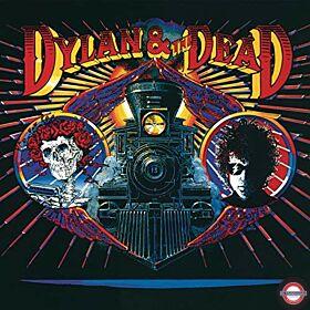 Bob Dylan - Dylan & the Dead (Red & Blue Tie Dye Vinyl)