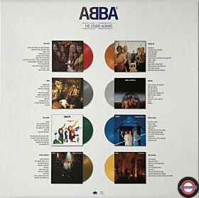 ABBA - The Studio Albums (8x Limited Colored Vinyl)