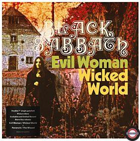 Black Sabbath-Evil Woman,  Wicked World / Paranoid / The Wizard, 2 xPicture Vinyl, RSD 2020