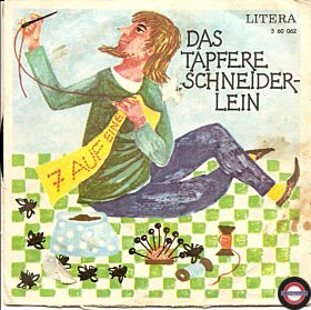 """Das tapfere Schneiderlein - 7"""" Single"""