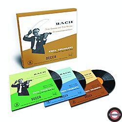 Bach - Partitas & Sonatas for unaccompanied violin