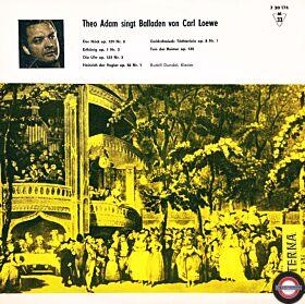 Adam: Berühmte Balladen von Carl Loewe (10''/1963)