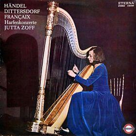 Harfen-Konzerte - von Händel, Dittersdorf, Francaix