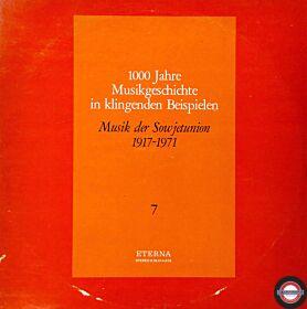 Musikgeschichte (VII) - Die Sowjetunion (2 LP)
