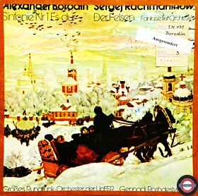 """Borodin/Rachmaninow: Sinfonie Nr.1/""""Der Felsen"""""""