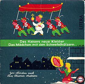 """Das kleine Mädchen mit dem Schwefelhlzchen & Des Kaisers neue Kleider - 7"""" Single"""