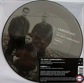 """Camouflage – The Great Commandment  7"""" , 2017"""