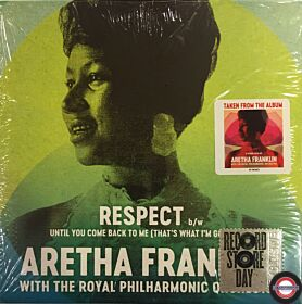 """Aretha Franklin With The Royal Philharmonic Orchestra – Respect - 7"""" Single"""