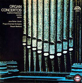 Albrechtsberger/Haydn  CPE Bach: Orgel+Orchester