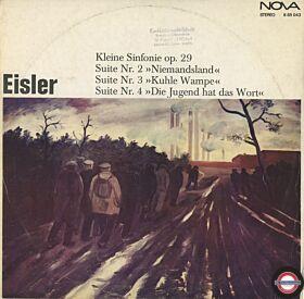 Eisler: Suiten Nr.2 bis Nr.4 und Kleine Sinfonie