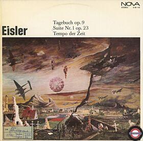 """Eisler: """"Tagebuch"""" - Kantate Suite Nr.1 für Orchester..."""
