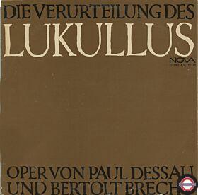 Dessau/Brecht: Die Verurteilung des Lukullus (2LP)