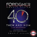 Foreigner (With Lou Gamm) - Double Vision - Then And Now (2LP+BlueRay)