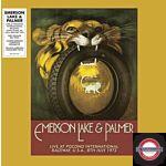 Emerson Lake & Palmer - Live At Pocono… (2LP Yellow/Brown Colored,RSD 2019)