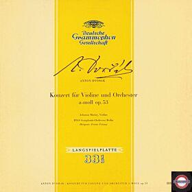 Antonin Dvorak - Konzerte Für Violine & Orchester A-Moll Op. 53
