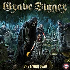 GRAVE DIGGER — The Living Dead