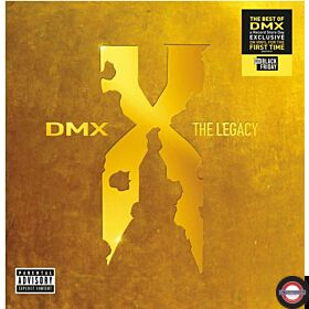 DMX - The Legacy (2LP Transparent Red) BF RSD 2020