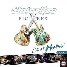 STATUS QUO — Pictures - Live At Montreux 2009 (Ltd. Numb. Edition)