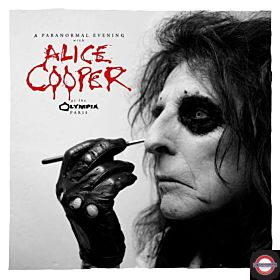 ALICE COOPER — A Paranormal Evening at the Olympia Paris [Coloured]
