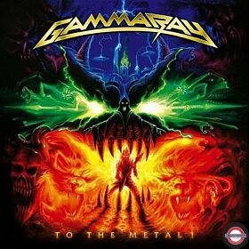 Gammaray - To The Metal! (Orange Transparent 2LP) RSD 2020