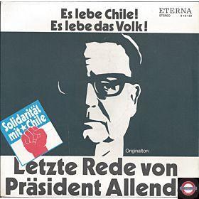 Letzte Rede vpn Präsident Allende