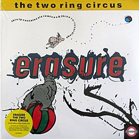ERASURE - THE TWO RING CIRCUS (Limited yellow vinyl)