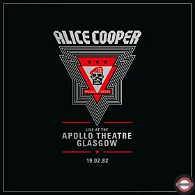 ALICE COOPER - Live from the Apollo Theatre Glasgow Feb 19.1982 (2LP) RSD 2020