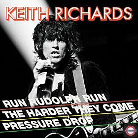 Keith Richards - Run Rudolph Run ( Red Vinyl, RSD Black Friday)