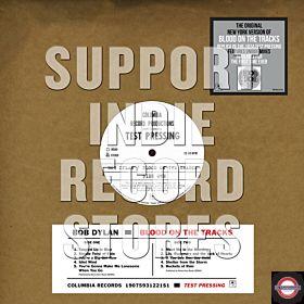 Dylan Bob - Blood On The Tracks –  Original New York Test Pressing