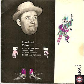 """Eberhard Chors - So ein blöder Heini (7"""" EP)"""