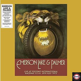 Emerson Lake & Palmer - Live At Pocono… (2LP Yellow/Brown Colored,RSD 2019)