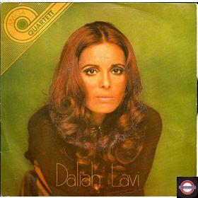 """Daliah Lavi  (7"""" Amiga-Quartett-Serie)"""