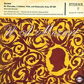 Mozart: Klarinetten-Quintett in A-Dur (10'')
