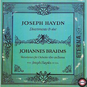 Haydn/Brahms: Divertimento/Variationen (10'')
