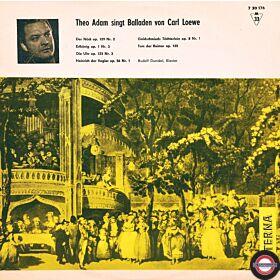 Adam: Berühmte Balladen von Carl Loewe (10'')