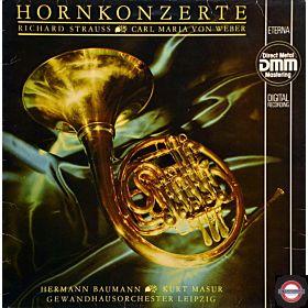 Strauss/Weber: Hornkonzerte - mit Baumann