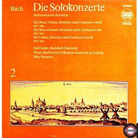 Bach: Solokonzerte (2) - mit Glaetzner, Suske ...