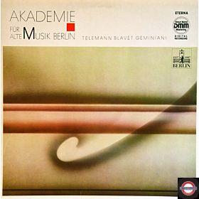 Alte Musik - von Telemann, Blavet, Geminiani