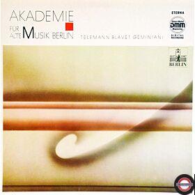 Alte Musik - von Telemann, Blavet und Geminiani