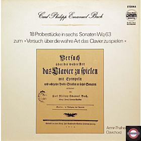 Bach, C.P.E.: 18 Probestücke in sechs Sonaten
