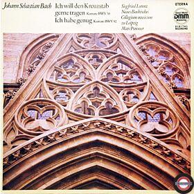 """Bach: Kantaten """"Ich will den Kreuzstab gerne tragen""""..."""