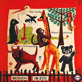 """Sandig: """"Besuch im Zoo"""" - Heitere Tierlieder (10'')"""