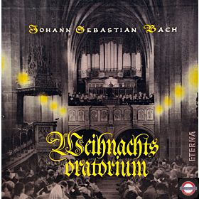 Bach: Weihnachtsoratorium (1959; Box mit 4 LP)
