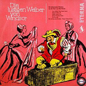 Nicolai: Die lustigen Weiber von Windsor (Mono; 1959)