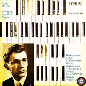 Haydn/Mozart: Klaviersonaten - mit Walter Olbertz